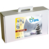 KIT SPA CHLORE - Valisette spa