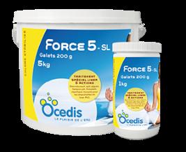 Famille Force 5 liner OCEDIS