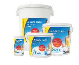 Famille Chlore choc 20 g OCEDIS