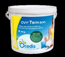 OVYTWIN - Chlore enrichi à l'oxygène actif -