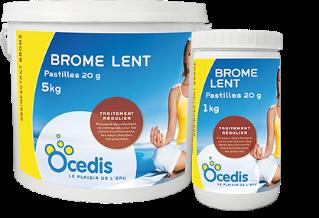 Famille Brome lent pastilles OCEDIS