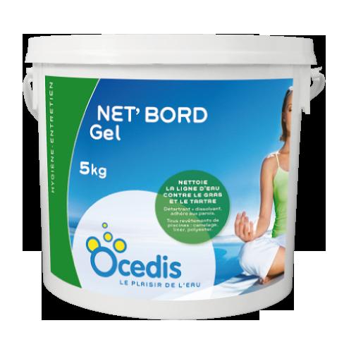 Net bord gel nettoyage des abords du bassin ocedis for Produit de piscine