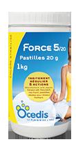 Force 5 - pastilles 20g 1kg OCEDIS