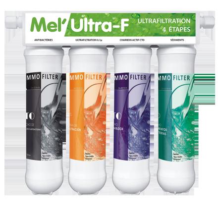 Ultra filtration Mel'Ultra Melwater Ocedis