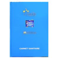 LIVRET SANITAIRE - carnet sanitaire